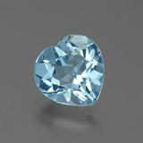 thumb image of 2.9ct Heart Facet Swiss Blue Topaz (ID: 439285)