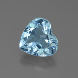thumb image of 2.6ct Heart Facet Swiss Blue Topaz (ID: 439288)