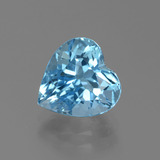 thumb image of 3.5ct Heart Facet Swiss Blue Topaz (ID: 439293)