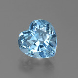 thumb image of 3.3ct Heart Facet Swiss Blue Topaz (ID: 439295)