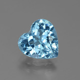 thumb image of 3ct Heart Facet Swiss Blue Topaz (ID: 439296)