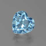 thumb image of 3.2ct Heart Facet Swiss Blue Topaz (ID: 439333)