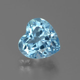 thumb image of 3.2ct Heart Facet Swiss Blue Topaz (ID: 439334)