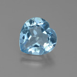 thumb image of 2.7ct Heart Facet Swiss Blue Topaz (ID: 439336)