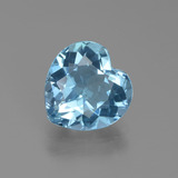 thumb image of 3ct Heart Facet Swiss Blue Topaz (ID: 439337)