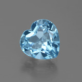 thumb image of 3.1ct Heart Facet Swiss Blue Topaz (ID: 439338)