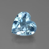 thumb image of 2.7ct Heart Facet Swiss Blue Topaz (ID: 439343)
