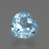 thumb image of 3.1ct Heart Facet Swiss Blue Topaz (ID: 439383)
