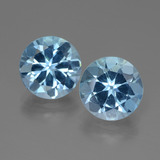 thumb image of 3.2ct Round Facet Swiss Blue Topaz (ID: 439722)