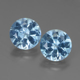 thumb image of 6.1ct Round Facet Swiss Blue Topaz (ID: 439726)