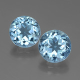 thumb image of 7ct Round Facet Swiss Blue Topaz (ID: 439730)