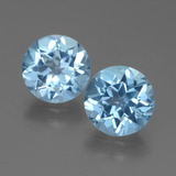 thumb image of 6ct Round Facet Swiss Blue Topaz (ID: 439732)