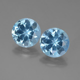thumb image of 6.2ct Round Facet Swiss Blue Topaz (ID: 439844)