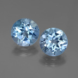 thumb image of 5.8ct Round Facet Swiss Blue Topaz (ID: 439848)