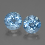 thumb image of 6ct Round Facet Swiss Blue Topaz (ID: 439948)