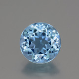 thumb image of 3.2ct Round Facet Swiss Blue Topaz (ID: 440213)