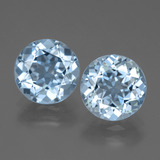 thumb image of 6.2ct Round Facet Swiss Blue Topaz (ID: 440306)
