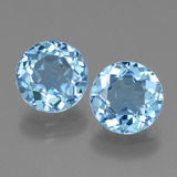 thumb image of 6.7ct Round Facet Swiss Blue Topaz (ID: 440308)