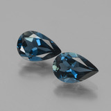 thumb image of 2.6ct Pear Facet London Blue Topaz (ID: 441918)
