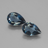thumb image of 2.2ct Pear Facet London Blue Topaz (ID: 441922)