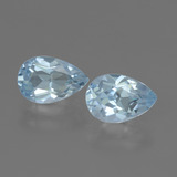 thumb image of 3.5ct Pear Facet Swiss Blue Topaz (ID: 441946)