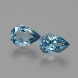 thumb image of 3.2ct Pear Facet London Blue Topaz (ID: 442025)