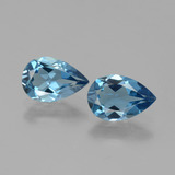 thumb image of 2.5ct Pear Facet Swiss Blue Topaz (ID: 442033)