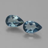 thumb image of 2.5ct Pear Facet London Blue Topaz (ID: 442062)