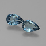 thumb image of 2.4ct Pear Facet London Blue Topaz (ID: 442063)