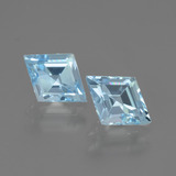 thumb image of 1.8ct Rhomb Facet Swiss Blue Topaz (ID: 442105)