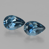 thumb image of 3.1ct Pear Facet London Blue Topaz (ID: 442132)