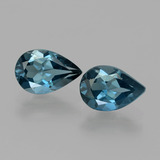 thumb image of 2.9ct Pear Facet London Blue Topaz (ID: 442140)