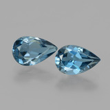 thumb image of 2.9ct Pear Facet London Blue Topaz (ID: 442141)