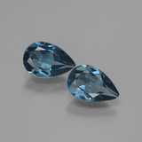 thumb image of 2.7ct Pear Facet London Blue Topaz (ID: 442192)
