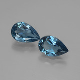 thumb image of 2.9ct Pear Facet London Blue Topaz (ID: 442195)