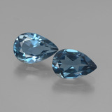 thumb image of 3ct Pear Facet London Blue Topaz (ID: 442201)