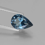 thumb image of 1.6ct Pear Facet London Blue Topaz (ID: 442239)