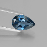 thumb image of 1.4ct Pear Facet London Blue Topaz (ID: 442240)