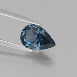 thumb image of 1.4ct Pear Facet London Blue Topaz (ID: 442246)