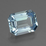 thumb image of 3.4ct Octagon Facet Swiss Blue Topaz (ID: 442255)