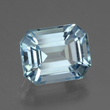 thumb image of 4.1ct Octagon Facet Swiss Blue Topaz (ID: 442261)