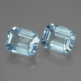 thumb image of 7.9ct Octagon Facet Swiss Blue Topaz (ID: 442302)