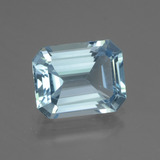 thumb image of 3.7ct Octagon Facet Swiss Blue Topaz (ID: 442306)