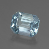 thumb image of 4ct Octagon Facet Swiss Blue Topaz (ID: 442307)