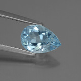thumb image of 1.6ct Pear Facet Swiss Blue Topaz (ID: 442353)