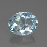 thumb image of 3ct Oval Facet Swiss Blue Topaz (ID: 442484)
