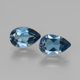 thumb image of 2.9ct Pear Facet London Blue Topaz (ID: 442504)
