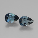 thumb image of 2.5ct Pear Facet London Blue Topaz (ID: 442507)