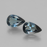 thumb image of 2.9ct Pear Facet London Blue Topaz (ID: 442513)