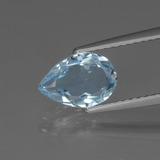 thumb image of 1.4ct Pear Facet Swiss Blue Topaz (ID: 442518)